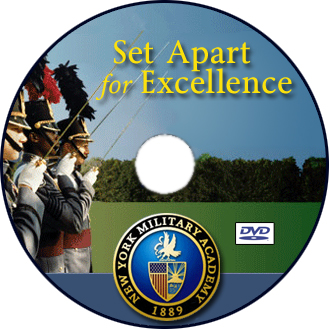 The New York Military Academy DVD design.