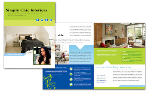 This is the brochure Avekta designed for Simply C