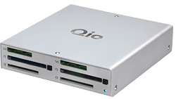 The Qio multiple video card reader module from Sonnet Technologies retails at $999.