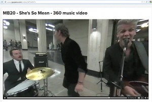 "Matchbox Twenty performing ""She's So Mean"" in 360-degree 4K HD"