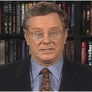 Forbes' CEO, Steve Forbes in a global satellite news conference produced by Avekta Productions.